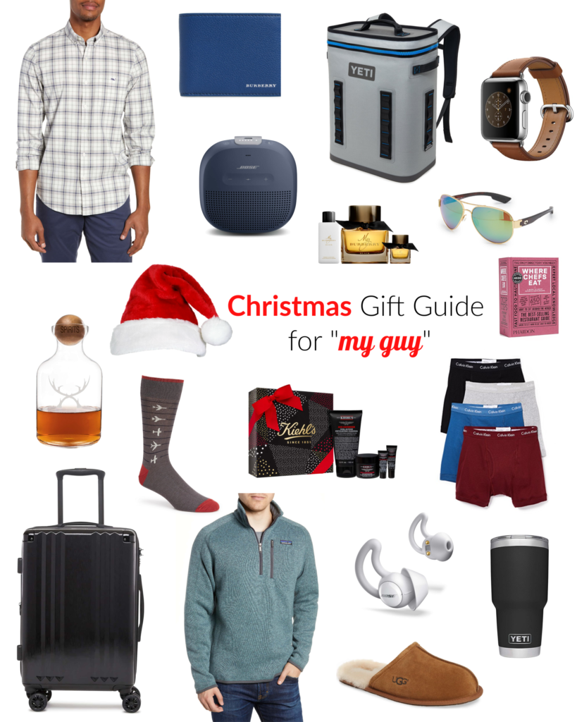 Christmas Gift Guide For My Guy